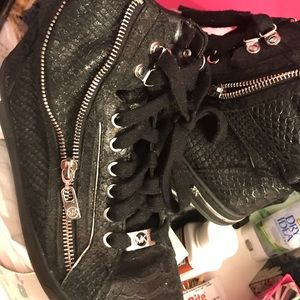 Michael Kors High Top Leather Shoes